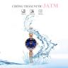 Đồng hồ nữ dây thép chính hãng Hàn Quốc Julius JA-1135C xanh