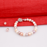 Opal - vòng tay và hoa tai Ngọc trai mix nhiều màu_ T7