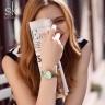 (SIÊU SALE) Đồng hồ nữ chính hãng Shengke UK K0108L-01 xanh