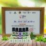 Combo đèn xông tinh dầu thủy tinh cao cấp và 01 lọ tinh dầu oải hương hữu cơ Oresoi 10ml