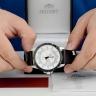 Đồng hồ nam Orient FUG1X003W9 chính hãng (full box + sổ bảo hành toàn quốc 3 năm) mặt kính chống xước - chống nước - dây da cao cấp