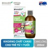 Siro cho trẻ trên 1 tuổi - Brauer Baby & Kids Liquid Calcium with Magnesium & Zinc Úc (200ml)