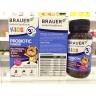 Brauer Pribiotic Power men vi sinh Úc dạng bột dành cho trẻ trên 3 tuổi (60g)
