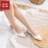 Giày nữ, giày cao gót slingback Erosska mũi nhọn cao 2cm thời trang kiểu dáng basic - EL001 (BA)