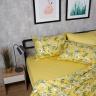 Bộ chăn drap cotton satin Hàn Quốc 5 món Glowing Floral 01 1m8x2m
