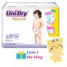 (Tặng 1 thú bông con mèo) tã quần Unidry size L54 _ tã quần Premium (54 miếng / gói)
