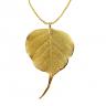 Lá bồ đề phủ vàng 24K - quà tặng mỹ nghệ Kim Bảo Phúc DOJI