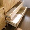 Tủ quần áo Ixora gỗ cao su 1m2 - Cozino