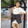 Sét đầm thun phối chân váy  AD190123