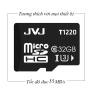 Thẻ nhớ  micro SDHC JVJ 32G C10 - thẻ nhớ tốc độ cao