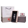 Đồng hồ nữ Julius Star Hàn Quốc JS-031C kính sapphire dây thép (bạc)
