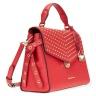Túi xách chính hãng Michael Kors Bristol Studded Satchel - Bright Red 30H7GZKS2I