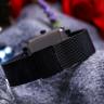 Đồng hồ nữ Julius Hàn Quốc JA-1207D dây thép (đen )