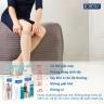 Vớ/tất y khoa đùi JOBST Ultrasheer - siêu mỏng điều trị giãn tĩnh mạch chân, 20-30 mmHg, size L (màu da, kín ngón)