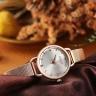 Đồng hồ Hàn Quốc Julius JA-1192 dây thép kim giây cách điệu