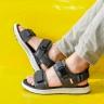 Giày sandal couple nam nữ hiệu Vento mã số NB01G2 đế siêu nhẹ