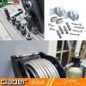 Combo bộ cuộn ống 15m Aquapony Kit + giá treo tường kim loại