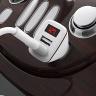 Sạc xe hơi Borofone BZ11-2, BZ-11-2 cổng USB có màn hình LCD