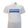 Áo thể thao cầu lông Sunbatta SMT 635 trắng Form training