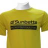 Áo thể thao cầu lông Sunbatta SMT 635 vàng đậm Form training