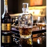 Bộ bình và 6 ly rượu mạnh Pha lê Ý RCR Alkemist 1070ml - 346ml