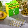 Hỗ trợ giảm lão hóa da, giúp làm đẹp da – Natural E – Robinson Pharma USA - hộp 100 viên