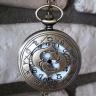 Đồng hồ pin quả quýt bỏ túi cổ điển retro tháng sinh 12 cung hoàng đạo Song Ngư Pisces