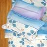 Chăn chần gòn 3 lớp cotton sợi bông Hàn Quốc Julia221MG