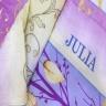 Bộ chăn ga gối 5 món chần gòn cotton Hàn Julia 172BC16