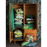 Tủ quần áo 2 cánh Portobello phong cách Vintage gỗ tự nhiên 1m2