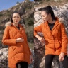 Áo jacket nữ 3 lớp cam HeraDG - WJK19002