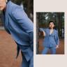 Áo vest tuýt màu xanh HeraDG - WT19020A