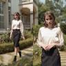 Chân váy tuýt xi màu đen HeraDG - WJP19001