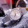 Đồng hồ nữ Hàn Quốc Julius JA-1219 dây đeo xương cá mặt xoắn ốc cá tính