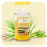 Nến thơm ly thủy tinh cao cấp Leviter tinh dầu sả 95gr