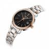 Đồng hồ nữ dây kim loại chính hãng Julius Hàn Quốc JA-1205LC bạc mặt đen