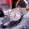 Đồng hồ nữ JuliusJA-1219Adây lưới bông lúa Hàn Quốc chính hãng