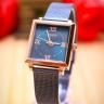 Đồng hồ nữ dây kim loại chính hãng Julius Hàn Quốc JA-1202C xanh