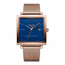 Đồng hồ nữ dây kim loại chính hãng Julius Hàn Quốc JA-1207C (đồng mặt xanh)