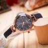 Đồng hồ nữ dây da Hàn Quốc JA-1182C xanh