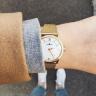 Đồng hồ nữ Dugena Modena 4460440 mặt tròn dây kim loại 29 mm