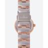 Đồng hồ nữ Dugena Crystel 4460630 mặt tròn viền đá dây kim loại 25 mm