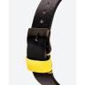 Đồng hồ thời trang unisex Erik von Sant 003.007.A mặt tròn kim phối ba màu dây da đen 38mm