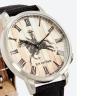 Đồng hồ thời trang unisex Erik von Sant 003.006.A mặt tròn chữ số la mã dây vải 38mm