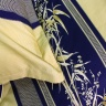 Bộ chăn ga gối 5 món cotton satin Hàn Julia 473BG16