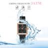 Đồng hồ nữ JA-1202D Julius Hàn Quốc dây thép đen
