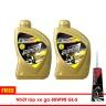 Combo 2 chai nhớt xe tay ga BCP Thái Lan tặng nhớt Lap