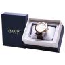Đồng hồ nam dây da Julius Hàn Quốc JAH-056C Vàng