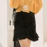Chân váy viền bèo Kimi - VN190054