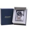 Đồng hồ nam Julius Hàn Quốc chính hãng JAH-113C Bạc mặt Đen